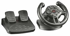 Trust GXT 570 Gaming Steering Wheel with Pedals and Vibration Feedback for PC an
