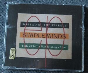 Simple Minds, ballad of the streets, Maxi CD neuf