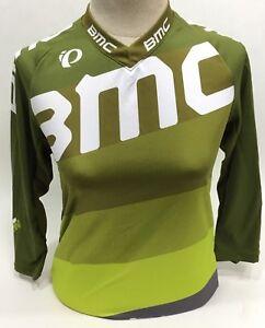 Pearl Izumi BMC Trailcrew Mountain Bike Jersey Baggy Lime Women's - L - 215446