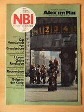 NBI 18 - 1980 3* Alex-Weltzeituhr Burckhardt Hoppe  Feldermäuse Marktplatz-Löbau