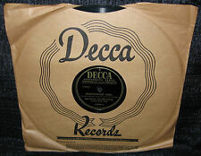 BING CROSBY Whiffenpoof Song b/w Kentucky Babe (Original 1947 U.S 10inch)