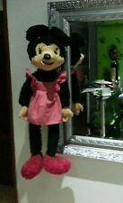 Muy Antigio peluche/muñeca de Minnie Mouse. Mickey. Mide 90cm.