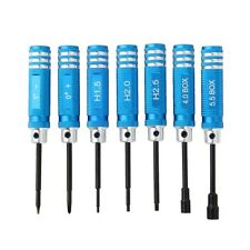 RC Kit Hex Screw Driver Set Kit For Transmitter Helicopter Plane Vehicle Tools