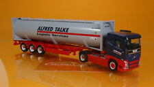 Herpa 309363 Volvo FH FD drucksilo-contenedor-SZ Alfred TALKE scale 1 87