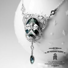 Harry Potter Hogwarts Rowena Ravenclaw's Diadem Inspired Necklace Swarovski