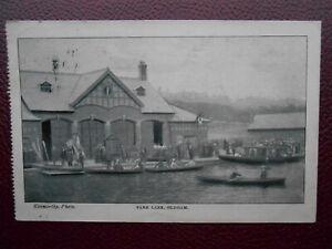 Boat House Park Lake OLDHAM Lancashire *Vintage* Kenworthy 1904 Rowing Boats