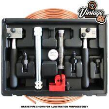 "Brake Pipe Flaring Tools SAE DIN 3/16"" Copper Kunifer Straightener Cutter On Car"