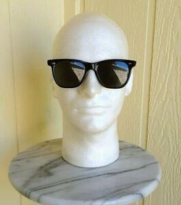 Vintage American Optical Saratoga Sunglasses CN 25T 51 Black AO