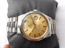 RARE VTG SS TITONI COSMO KING ROTOMATIC 25J OYSTER MODEL MEN AUTOMATIC WATCH