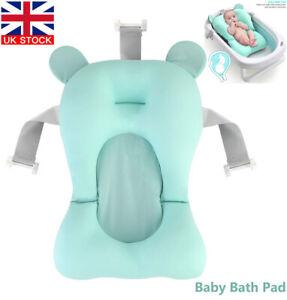 Infant Baby Bath Pad Non-Slip Bathtub Mat NewBorn Safety Bath Seat Support Soft