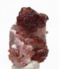 SPESSARTITE Gemmy Garnet Crystal cluster Mineral Specimen NAVEGADOR MINE BRAZIL