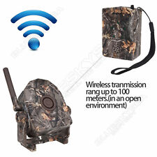 Wireless Trail Camera Hunting Infrared Motion Sensor Security Alert Alarm System