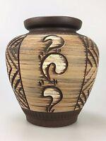 50er 60er Jahre Vase Blumenvase Keramik Mid Century Nierentisch Ära