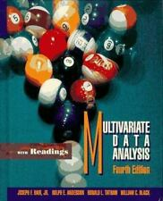 Multivariate Data Analysis: With Readings by Hair, Joseph F., Anderson, Rolph E