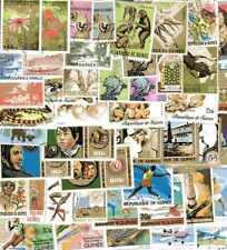 Guinée Française - French Guinea 400 timbres différents