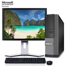 Dell OptiPlex Desktop Computer Core i5 8GB 500GB HD Windows 10 Pro WIFI 19in LCD