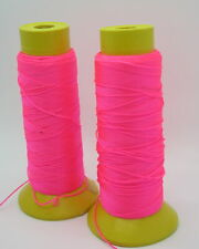 Assorted Lot of Limited Old Stock Fluorescent Thread Jewelry Making Supplies