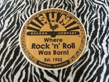 SUN RECORDS  TURNTABLE (RECORD PLAYER) SLIPMAT.