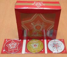 LES CHOEURS DE L ARMEE ROUGE MVD - COFFRET ETOILE : 1 CD + 2 DVD + 3 POSTERS