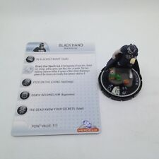 Heroclix The Brave and the Bold set Black Hand #056 Chase figure w/card!