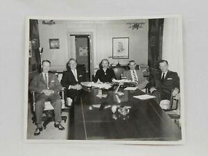 1958 Beechcraft Wichita Kansas Vtg 8x10 Black & White Photo, Board of Directors
