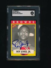 1993 Brown's Boxing Card Roy Jones Jr #36 sgc certified autograph pretty card