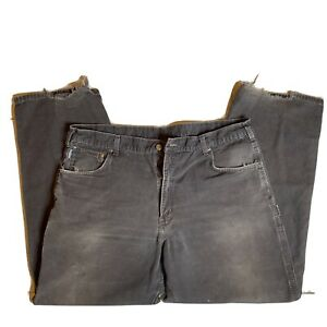Carhartt Mens 40x32 Loose Fit Work Pants B159 DKB Dark Brown
