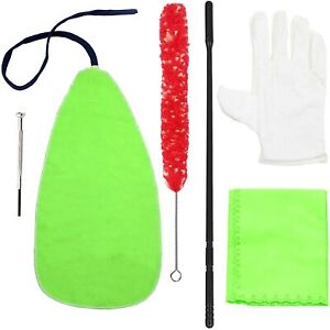 Adore Pro Flute Cleaning Kit - Cleaning Rod, Cloth, Brush, Gloves, Screwdriver