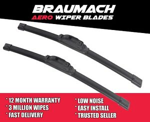 Wiper Blades Aero for Mahindra Pik-Up Cab Chassis 2.2 D 4x4 2012-2018
