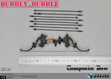 """1/6 Composite Bow Arrows For 12"""" Figure Soldier Military Weapon ☆SHIP FROM USA☆"""