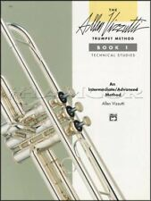 Trumpet Method Book 1 Technical Studies Sheet Music Book Allen Vizzutti