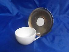Rosenthal TAC 02 Skin Platinum Combi Cup & Saucer Geometric Design