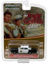1:64 GreenLight *HOLLYWOOD R16* ANDY GRIFFITH SHOW 1967 Ford POLICE CAR  *NIP*