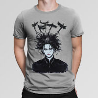 Robert Smith The Cure Art T-Shirt, High Quality Cotton Tee