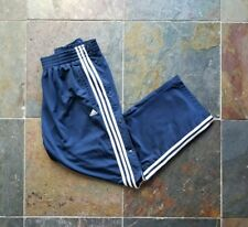 Adidas Performance Navy Blue Track / Snap off Pants – Men's Sz M – $25 – Free Sh