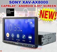 SONY XAV-AX8000 8.95-IN. MULTIMEDIA RECEIVER ANDROID AUTO APPLE CAR PLAY USB BT