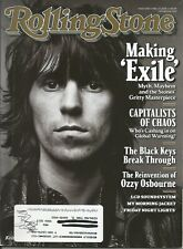 Rolling Stone #1105 -05/27/2010 - KEITH RICHARDS, ROLLING STONES, OZZY OSBOURNE