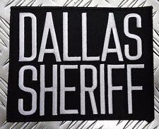 Genuine US Dallas Sheriff Large Obsolete Shoulder Patch / Badge Texas PB12