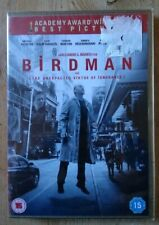 BIRDMAN  or (The Unexpected Virtue of Ignorance)  dvd  NEW and Sealed