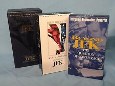 ~Oliver Stone~ J.F.K. Director's Cut   VHS Video Tape...Nice!!!