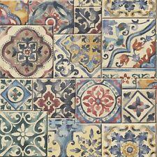 Marrakech/marocchino Piastrelle Design Carta Da Parati (piatti di carta, incollare il muro)