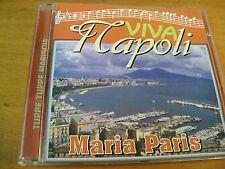 MARIA PARIS  VIVA NAPOLI TUPPE TUPPE MARISCIA  CD FONOTIL
