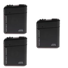 3 un. Universal Pila AA Portátil Emergencia USB Cargador De Teléfono Móvil