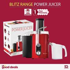 Centrifugal Power Juicer Extractor Juice Making Machine Whole Fruit & Veg Red