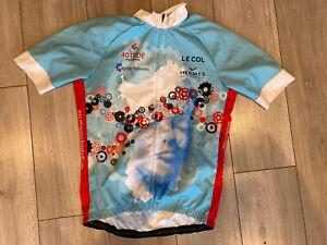 LE COL CYCLING JERSEY TOP SHITRT SIZE XL VGC