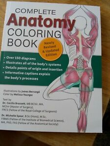 Complete Anatomy Colouring Book, Brand new