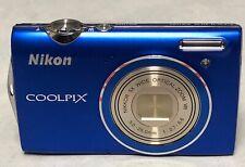 Nikon Coolpix S5100 blue camera dummy 90% condition