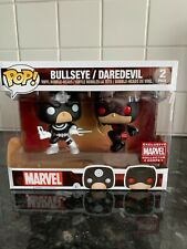 Funko Pop Vinyl Figure Bullseye / Daredevil 2 Pack Marvel Collector Corps
