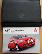 MITSUBISHI COLT HANDBOOK OWNERS MANUAL WALLET 2004-2008 PACK 14226