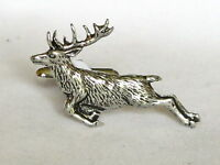 Leaping Stag Deer Springing Fine Pewter Cufflinks Gift Mens Jewellery Boxed